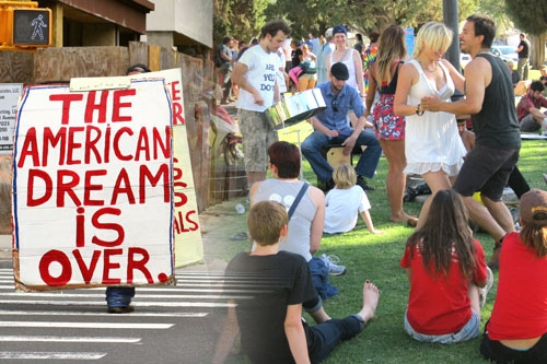 Pseudo Activism And University Students. The Great American Dream Is Over, But Many Millions Of Americans Still Hang On To False Hopes.  The 99% Are Beginning To Awaken To The Entrapment Of The False Powers. Is There An Answer To The Future?