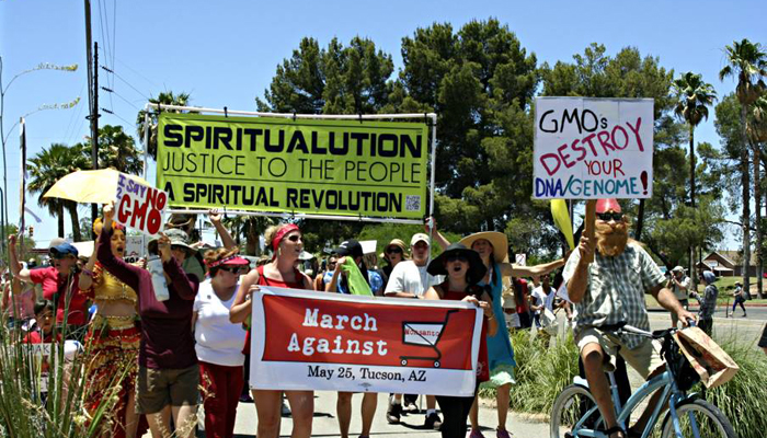 March Against Monsanto - Tucson, AZ - May 24, 2014