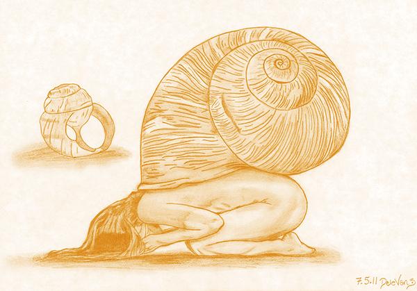 Metamorphosis in the Ocean of Devotion by CosmoArtist DeleVan
